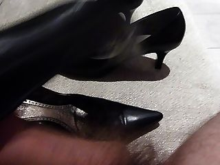 暨在妻子高跟鞋,2對