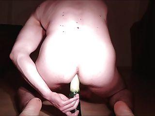 assfuck與黃瓜&射精從後面
