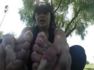 蒸汽和臭的烏木腳