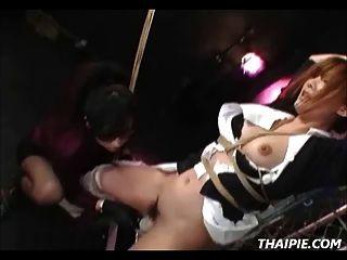 亚洲护士绑在一起玩弄