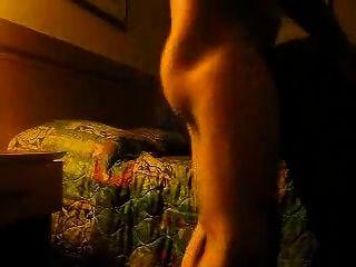 黑妓他妈的在酒店房间