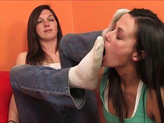 袜子嗅觉和脚部崇拜