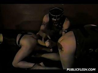 同性恋双重拳击和极限玩具