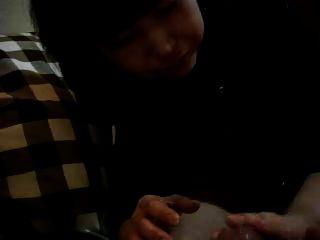 日本的takako向男朋友给手油
