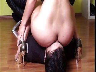 女主人面对他们的奴隶