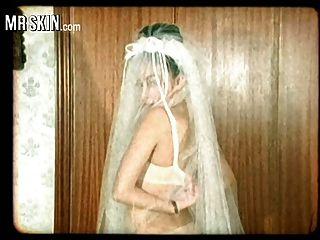 名人新娘,撕破他们的衣服,他妈的他们的丈夫!