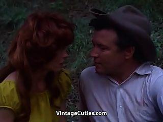红发他妈的在森林里(20世纪60年代的葡萄酒)