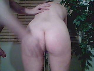 女孩有她的屁股拍摄相机1