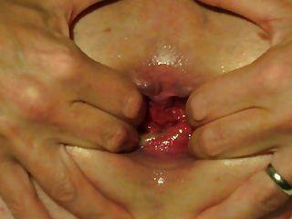 屁股填充水球肛门缝隙奇怪插入