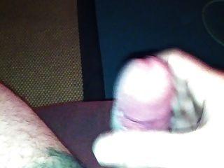 手淫,玩Precum和cumming