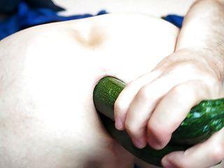 蔬菜填充我的屁股肛门06.2013