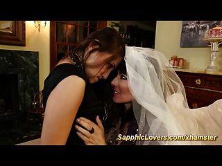 新娘和她最好的朋友有女同性恋