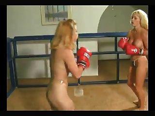 金发裸照拳击