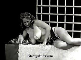 小丑女士想要创造一个世界纪录(20世纪50年代)