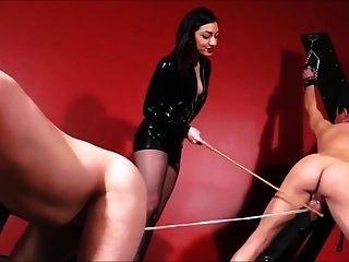 情妇鞭子,甘蔗和cbt 2奴隶