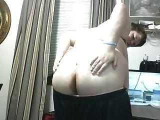 大胖子男孩摩托与内裤