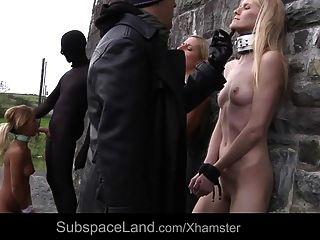 奴隶遭受屈辱残酷他妈的城堡第1部分