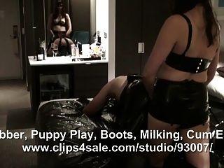 橡皮靴肛门他妈的男性奴隶
