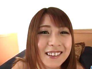 业余青少年,hitomi kitagawa,sucks和骑在公鸡pov
