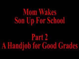 妈妈叫儿子上学第2部分
