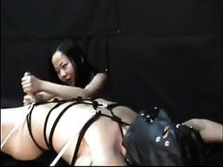 最好的亚洲调教和她的奴隶灰机
