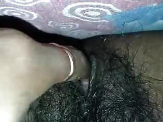 印度毛茸茸的猫自慰