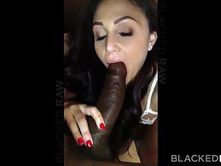 blackedraw淫布鲁内特的妻子喜欢在她的酒店黑公鸡