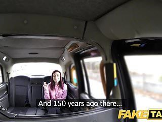 假出租车美国红发女郎紧的混蛋被司机搞砸了