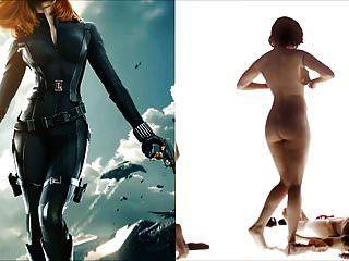 sekushilover黑寡妇vs裸体斯嘉丽