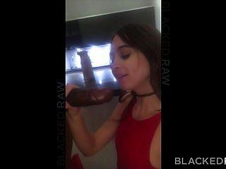 blackedraw riley reid轮辋黑色螺柱在酒店房间里
