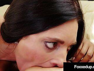 成熟的情人mindi水貂指示乌木公主jenna foxx!
