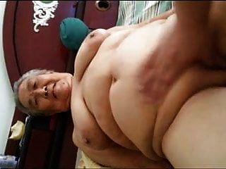 亚洲胖乎乎的奶奶